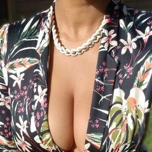 Chunky Cream Necklace